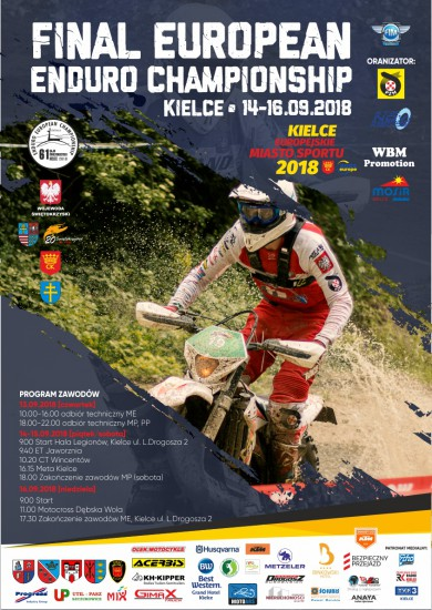 [POLONIA] 7^ 8^ 9^ P. CAMPIONATO EUROPEO ENDURO A SKOVDE 14-15-16 SETTEMBRE 2018